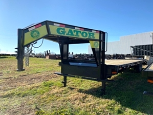 Hot Shot Trailer With 8k Dexter Axles  Hot Shot Trailer With 8k Dexter Axles. 8,000 pound dexter electric brake axles couples with 17.5 commercial series tires makes this Gatormade trailer an excellent under CDL trailer choice.