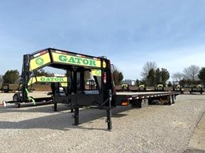 Hotshot Trailer with 10k Axles  Hotshot Trailer with 10k Axles. Dual tandem hotshot trailer flatbed 40ft